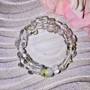 Jewelry - Handmade glass bead bracelet